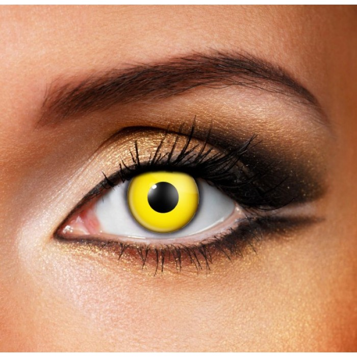 Yellow Contact Lenses (Yearly)